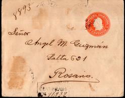 Argentina - Circa 1900 - Lettre - Republica En Medallon - 5 Ctv - A1RR2 - Briefe U. Dokumente