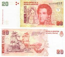 Argentina 20 Pesos 2015 UNC - Argentina