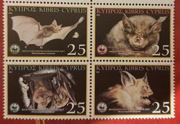 Cyprus / WWF / Bats - Neufs