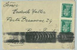 96906 - ARGENTINA - POSTAL HISTORY - COVER To Reggio Emilia  ITALY 1955  Evita - Briefe U. Dokumente