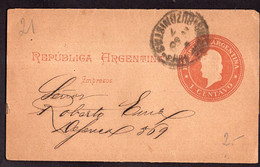 Argentina - Circa 1900 - Lettre - Republica En Medallon - 1 Ctv - A1RR2 - Briefe U. Dokumente