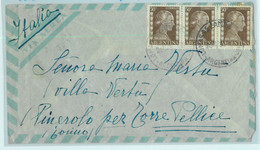 96908 - ARGENTINA - POSTAL HISTORY - Airmail COVER To Pinerolo, ITALY 1954 Evita - Briefe U. Dokumente