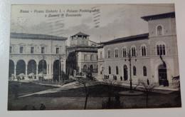 Siena Piazza Umberto I Palazzo Postelegrafico E Camera Di Commercio - Siena