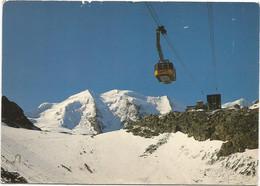 V5916 Diavolezzabahn Mit Piz Palu - Panorama / Viaggiata 1984 - GR Grisons