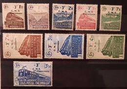 France 1942 N°191/99 Cote 190€ ** TB - Neufs