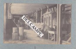 TONKIN -Exposition De Cochinchine D'HANOÏ (2 Photos) -Galerie Maquettes D'habitations Et D'Idoles Du LAOS-Palais 1902/03 - Luoghi