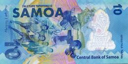 SAMOA 10 Tala Commemorative XVI Pacific Games 2019 Polymer  P New UNC - Samoa
