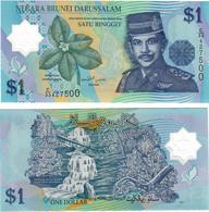 Brunei 1 Ringgit 2007 UNC - Brunei