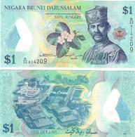Brunei 1 Ringgit 2013 UNC - Brunei