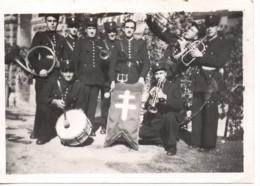 Marseille C.1946 Photo…musique De La POLICE D ETAT Fanfare - Lugares