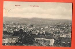 ZLB-19 Biel Bienne Vue Générale. Circulé 1908 - BE Berne