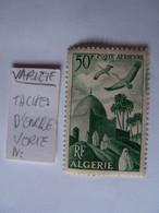 ALGERIE 1949 NEUF VARIETE SUR RECTO MARABOUT : TACHES D'ENCRE VERTE - Neufs