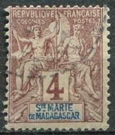 SAINTE MARIE - Y&T  N° 3 (o) - Used Stamps