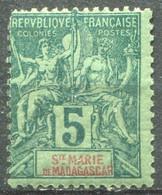 SAINTE MARIE - Y&T  N° 4 * - Unused Stamps