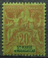 SAINTE MARIE - Y&T  N° 7 * - Unused Stamps