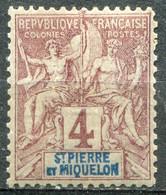 SAINT PIERRE ET MIQUELON - Y&T  N° 61 ** - Unused Stamps