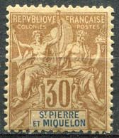 SAINT PIERRE ET MIQUELON - Y&T  N° 67 * - Unused Stamps