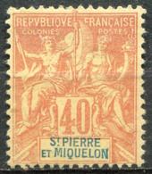 SAINT PIERRE ET MIQUELON - Y&T  N° 68 (*) - Unused Stamps