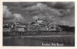 PORTUGAL - COIMBRA : Vista Parcial - CPSM Photo Noir Blanc Format CPA - - Coimbra