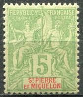 SAINT PIERRE ET MIQUELON - Y&T  N° 72 ** - Unused Stamps