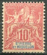SAINT PIERRE ET MIQUELON - Y&T  N° 73 ** - Unused Stamps