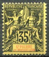 SAINT PIERRE ET MIQUELON - Y&T  N° 76 * - Unused Stamps
