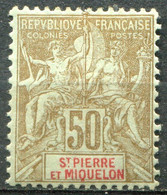 SAINT PIERRE ET MIQUELON - Y&T  N° 77 * - Unused Stamps