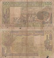 Burkina Faso / 500 Francs / 1990 / P-306C(m) / FI - Burkina Faso