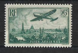 FRANCE 1936 - YT PA N° 8 NEUF AVEC CHARNIERE * - 1927-1959 Neufs