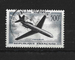FRANCE 1957-59 - YT PA N° 36 OBLITERE - 1927-1959 Gebraucht