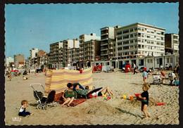 St-Idesbald - Strand / La Plage - Circulée - 2 Scans - Koksijde