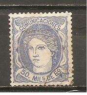 España/Spain-(usado) - Edifil  107 - Yvert  107 (o) - Usados