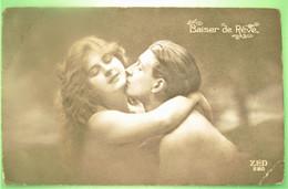 BAISER DE REVE - Fantaisie Couple Amour Nu -  PHOTO - Coppie