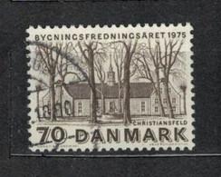 1975   Moravian Brethren Church, Christiansfeld - YT 598 - Unificato 598 - MI 592 - Usado