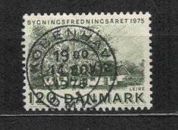 1975   Farmhouse, Lejre - YT 599 - Unificato 599 - MI 593 - Usado