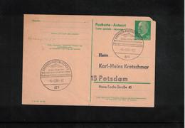 Germany / Deutschland 1966 World Biathlon Championship Garmisch-Partenkirchen  Interesting Postmark - Wintersport (Sonstige)