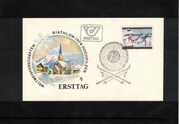 Austria / Oesterreich 1978 World Biathlon Championship Hochfilzen FDC - Wintersport (Sonstige)