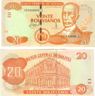 Bolivia 20 Bolivianos 1986 (2015) UNC - Bolivia
