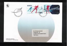 Norway 2016 World Biathlon Championship Oslo FDC - Wintersport (Sonstige)