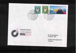 Norway 2016 World Biathlon Championship Oslo Opening Day 2.3.2016 Interesting Letter - Wintersport (Sonstige)