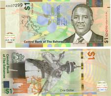 Bahamas 1 Dollar 2017 UNC - Bahamas