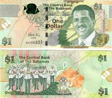 Bahamas 1 Dollar 2015 UNC - Bahamas