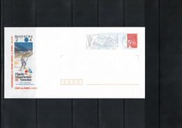 France 2004 World Junior Biathlon Championship Haute Maurienne Vanoise Interesting Letter - Wintersport (Sonstige)