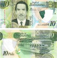Botswana 10 Pula 2018 UNC - Botswana