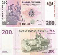 Congo (Democratic Rep) 200 Francs 2007 UNC - Democratic Republic Of The Congo & Zaire
