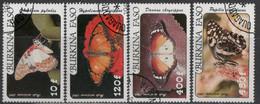 Burkina Faso - #C305-308(4) - Used - Burkina Faso (1984-...)