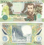 Colombia 5000 Pesos 2013 UNC - Colombia