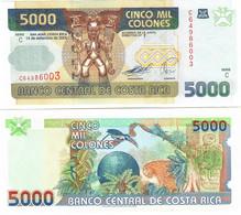 Costa Rica 5000 Colones 2005 UNC - Costa Rica