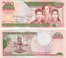 Dominican Republic 200 Pesos 2013 UNC - Dominicana