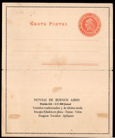 Argentina - 1904 - Lettre - Republica En Medallon - 4 Ctv - A1RR2 - Briefe U. Dokumente